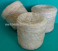 Round Palm leaf basket