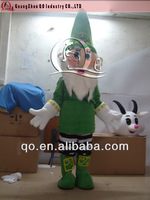 Moving Funny Christmas Costume Santa Claus Costume
