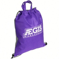 New recycle custom logo polyester fold tote bag