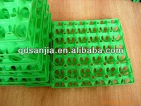 high quality colored plastic protect egg-cartons incubator transportation egg tureing tray egg crates/case