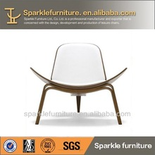 Hans Vagner Shell chair replica wooden coffee chair