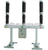 LW36A-145 132kV 145kV High voltage three phase pole mounted Outdoor SF6 Circuit Breaker