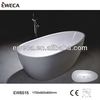 2014 New Style Acrylic Bathtub, Egg Shape Bath Tub,Thin Edge Tub