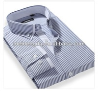 alibaba wedding dress 2014 stripe organic cotton shirt for wholesale