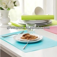Eco-friendly plastic EVA place mat dinner table mat,hot selling anti-slip mat