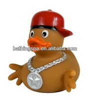 Hot selling Hip-hop boy rubber toy animals