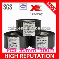 Print EXP Date/Batch/Lot No. FC3 30mm*100m size Black hot date coding foil used in food and medical industry