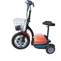 "3 wheel electric scooter/16"" scooter electric wheel hub motor/wholesale scooter electrico 3 ruedas"