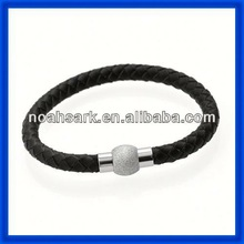 high design black plated mesh bracelets