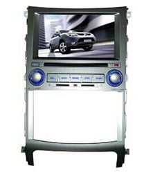 Factory price hot sell hyundai ix55 car dvd navigation with ipod analog tv