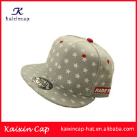 wholesale plain custom new design hot sell digital pattern embroidery flex fitted cheap snapback cap
