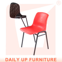 Cheap Stackable Chair with Writing Pad Chinese Suppliers Kids Chairs Wholesale Price with Free Shipment (50 chairs)to Singapore