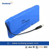 6600mAh 18650 3s3p Rechargeable Lithium Ion Battery 12V for Power Bank