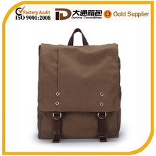 eco-friendly canvas backpack canvas backpack for school