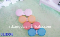 plum blossom contact lens case