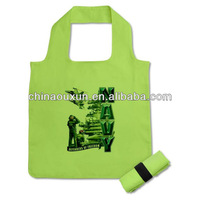 foldable polyester shopping bags