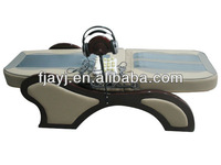 electric lifting jade heating far-infrared thermal jade massage bed with Mp3( AYJ-08B)