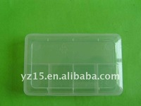 plastic box can hold hardware and sewing parts for house and hotel use