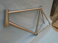 Last long 700C bicycle road titanium Racing bike frame with Di2