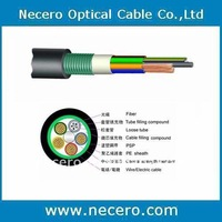 Hybrid optical fiber and electric cable