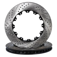 Brake Rotor-Arc+Holes Racing Brake Discs