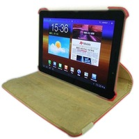 Rotary leather smart case for Samsung Galaxy Tab 7.7 P6800