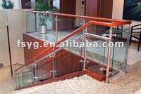 Classical Indoor Glass Stair Railing YGB14