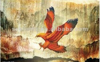 high quality free shipping American eagle oil painting