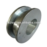 v groove heavy duty steel wheel