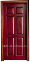 Popular 6 panel solid wood interior door RZ-225
