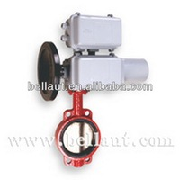 Electric Flow and Pressure Control Butterfly Valve