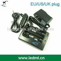 18650 Lithium Battery Charger (for 18650/17670/14650/16340)