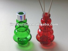 Colorful glass diffuser bottles for air freshing