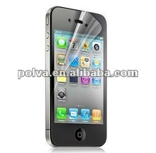 2012 transparent mirror screen protection film for for Iphone 4