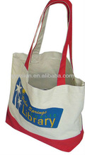 2012 the cheap promotional nice 10oz canvas shopping bag