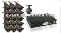 16ch DVR KIT with 16pcs waterproof cctv cameras