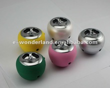 wholesale small speakers with rubberized coating/lighting for iPod, iPhone, laptop or any MP3 player