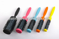 2012 hot selling TOURMALINE & NANO-SILVER Technology hair brush