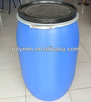 120L HDPE Plastic drums with iron hoop lid