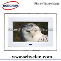 7 inch lcd digital picture frame /video player