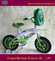 Green color baby boy racing type kids bikes,children bicycle for sale in factory price