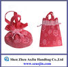 colorfull drawstring nylon mesh gift bag