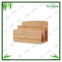 Novelty classy bamboo business card holder