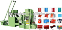 cylindrical colored cement roof tile making/molding machine