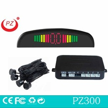 Rainbow LED digital display car parking sensor radar detector