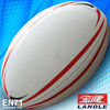 hot sale leathery Official size pu ball rugby