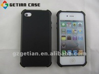 Best Sale Quadrilled Style Silicone Cover/Case for iPhone4 Mobie Phone Skin