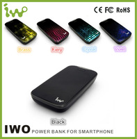 Cute Cartoon power bank/wholesale portable ORIGINAL iwo power bank