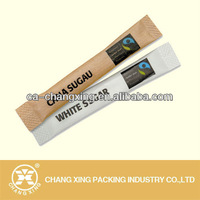 kraft paper sugar sachet roll film for individual cut