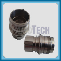 Precision Machined Connector, Metal CNC Motorcycle Spare Part